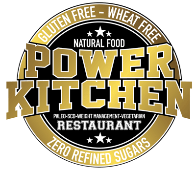 power kitchen restaurant logo